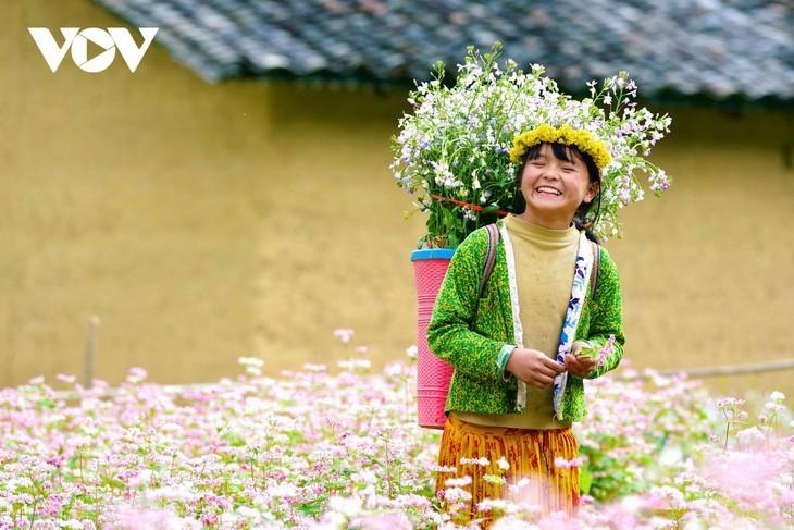 Провинция Хазянг в сезон цветения гречихи - ảnh 12