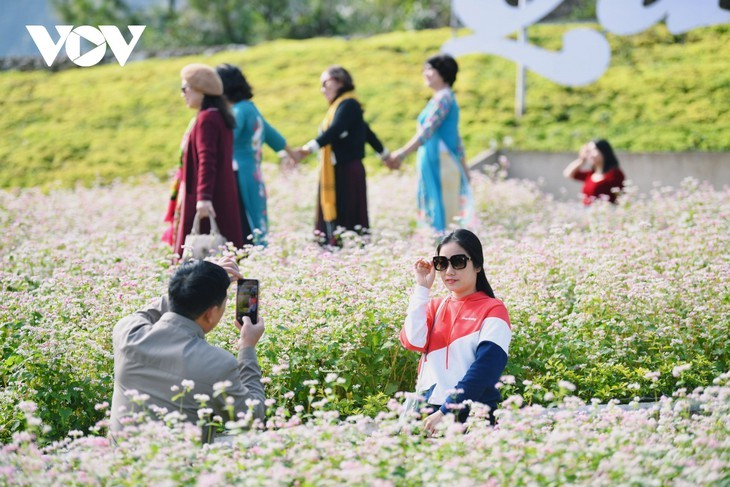 Провинция Хазянг в сезон цветения гречихи - ảnh 13