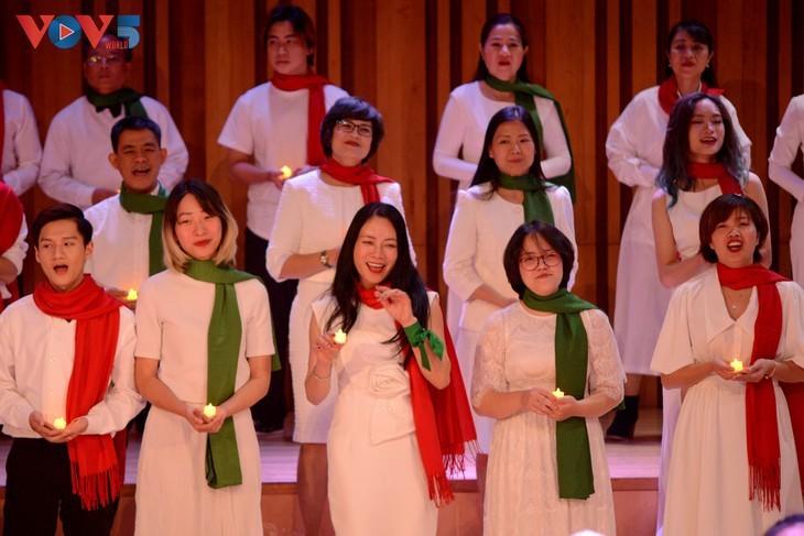 Хоровой концерт «Зеленое Рождество» - ảnh 12