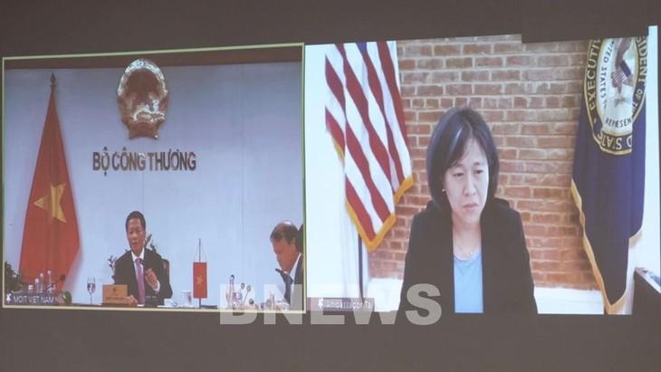 Вьетнам и США стремятся к устойчивому развитию торговли - ảnh 1