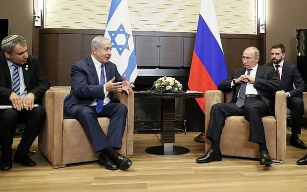 Путин и Нетаньяху обсудили глобальные вопросы - ảnh 1
