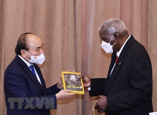 Кубинские СМИ осветили визит президента Вьетнама Нгуен Суан Фука на Кубу - ảnh 1