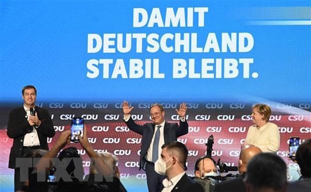 В Германии начались выборы в Бундестаг на срок 2021-2025 гг. - ảnh 1
