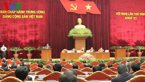 The 8th plenum of the 11th Party Central Committee opens in Hanoi - ảnh 1