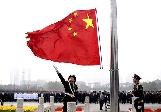 China celebrates 68th National Day - ảnh 1