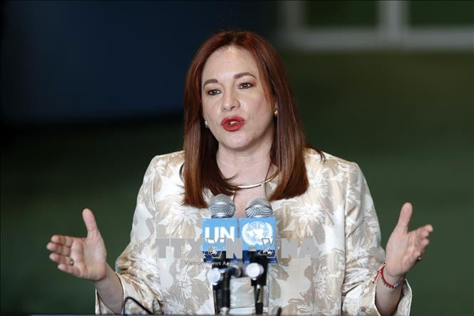 New UN General Assembly Chairwoman announces top priorities  - ảnh 1