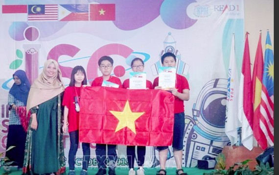 Vietnamese students win 4 gold medals at 2019 International Science Competition - ảnh 1