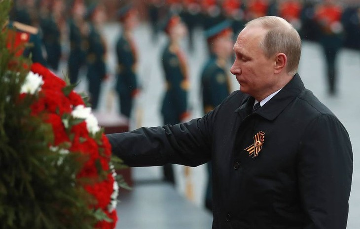 Russia marks 75th anniversary of Victory Day - ảnh 1