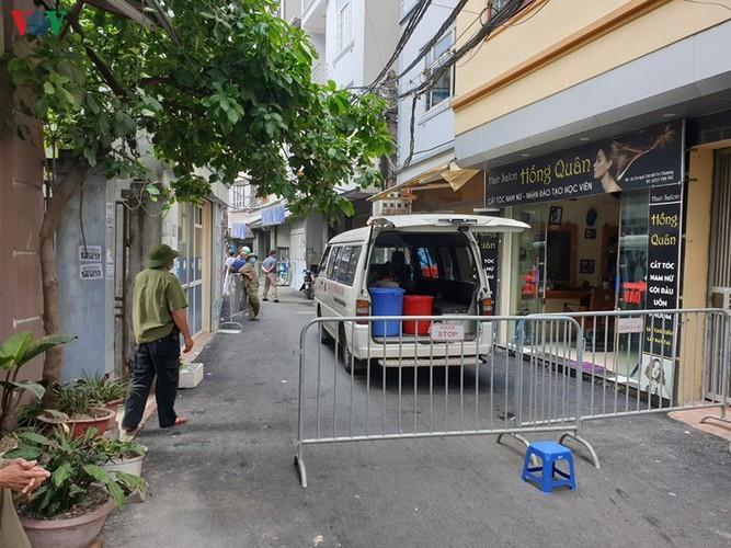 Hanoi's Nam Tu Liem district disinfected following suspected positive COVID-19 case - ảnh 5