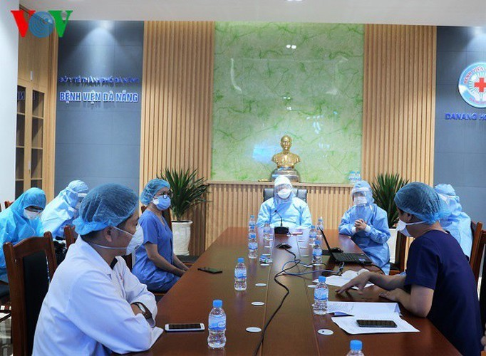COVID-19 hotbed Da Nang Hospital now clear of infections - ảnh 2