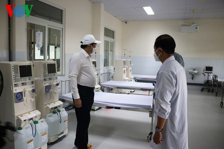 COVID-19 hotbed Da Nang Hospital now clear of infections - ảnh 5