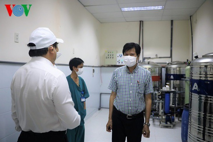COVID-19 hotbed Da Nang Hospital now clear of infections - ảnh 6