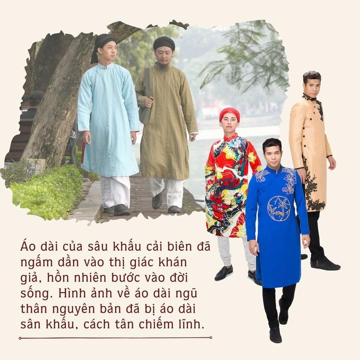 Áo dài ngũ thân nam truyền thống – Di sản bị lãng quên - ảnh 3