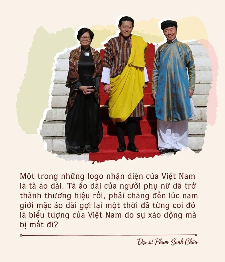 Áo dài ngũ thân nam truyền thống – Di sản bị lãng quên - ảnh 4