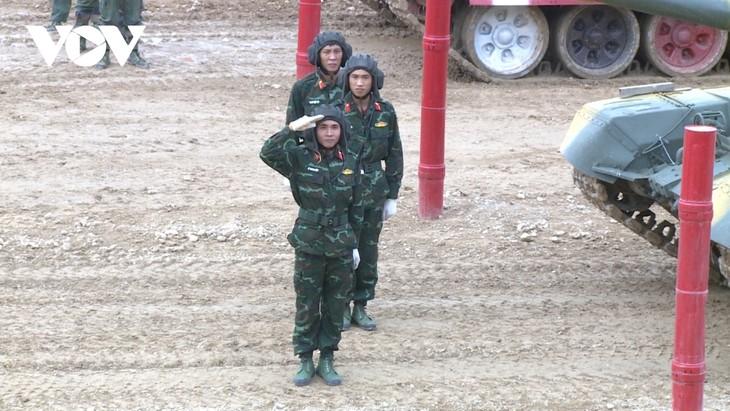 """Việt Nam về nhất vòng chung kết bảng 2 cuộc thi """"Xe tăng hành tiến Army Games 2020"""" - ảnh 1"""