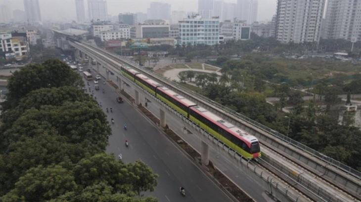 Third train of Hanoi metro line arrives in Vietnam - ảnh 5