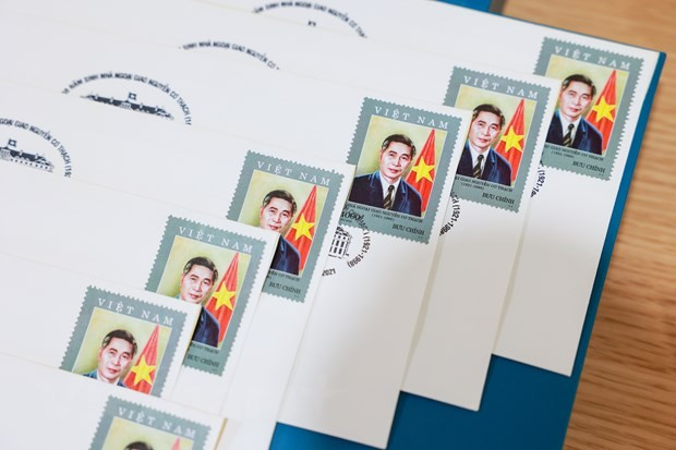 Lần đầu tiên phát hành một bộ tem về nhà ngoại giao Nguyễn Cơ Thạch - ảnh 9