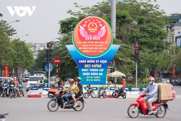 Hanoi ready for National Assembly election day - ảnh 2