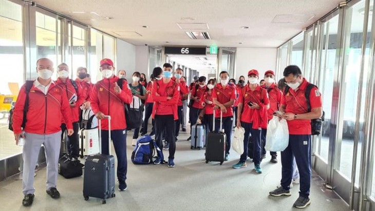 Vietnamese athletes arrive in Japan for 2020 Tokyo Olympics - ảnh 1