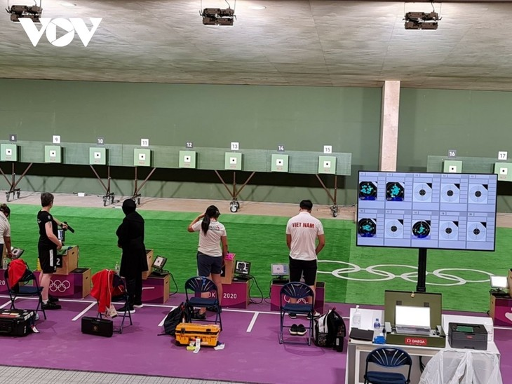 Vietnamese athletes participate in training ahead of Tokyo Olympics - ảnh 3