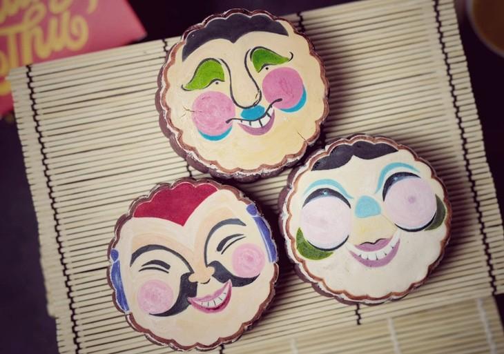Unique moon cakes hit market ahead of Full Moon Festival - ảnh 5