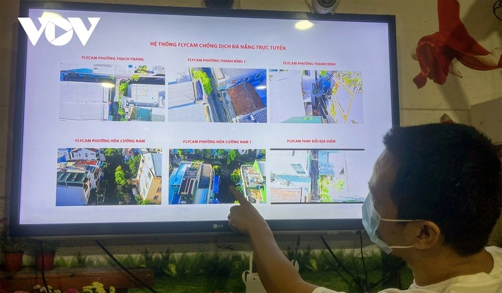 """Da Nang pilots to use drones to monitor people to """"stay where they are"""" - ảnh 17"""