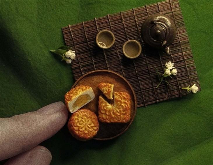 Unique tiny trays celebrate Mid-Autumn Festival  - ảnh 10