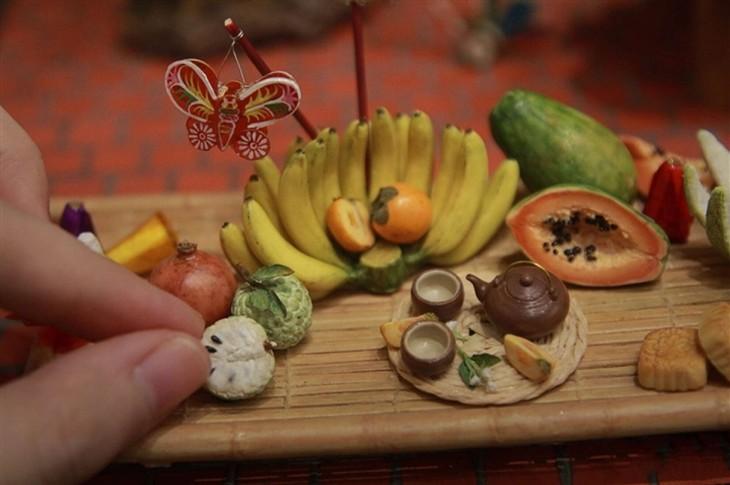 Unique tiny trays celebrate Mid-Autumn Festival  - ảnh 1