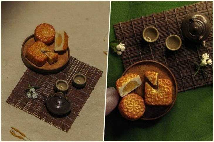 Unique tiny trays celebrate Mid-Autumn Festival  - ảnh 2