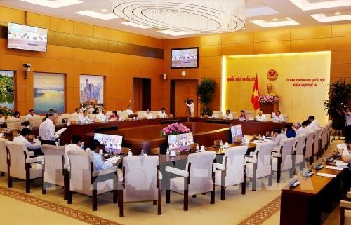 NA Standing Committee discusses settlement of complaints, denunciations - ảnh 1