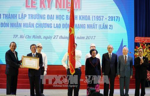 Ho Chi Minh City University of Technology marks 60th founding anniversary  - ảnh 1