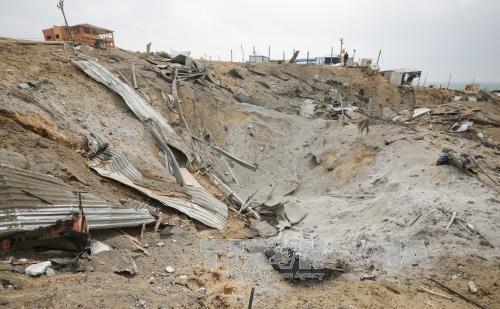 Israel strikes Hamas targets in Gaza  - ảnh 1
