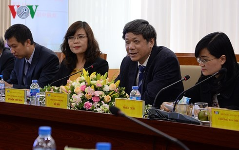 VOV, Guangxi People's Radio Station boost cooperation - ảnh 1