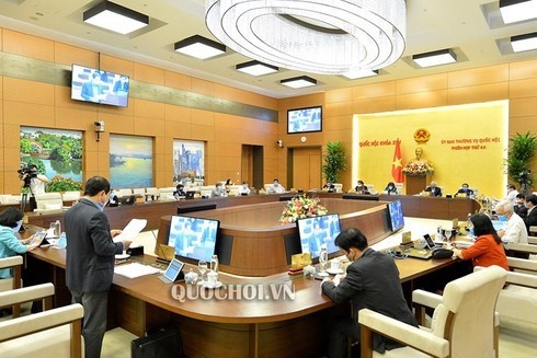 NA Standing Committee opens 45th meeting in Hanoi - ảnh 1