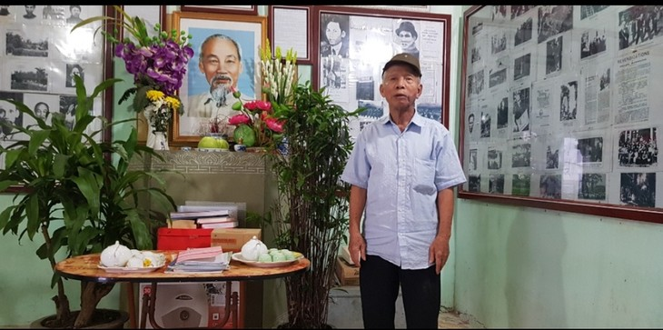Old farmer builds Uncle Ho memorial house  - ảnh 2