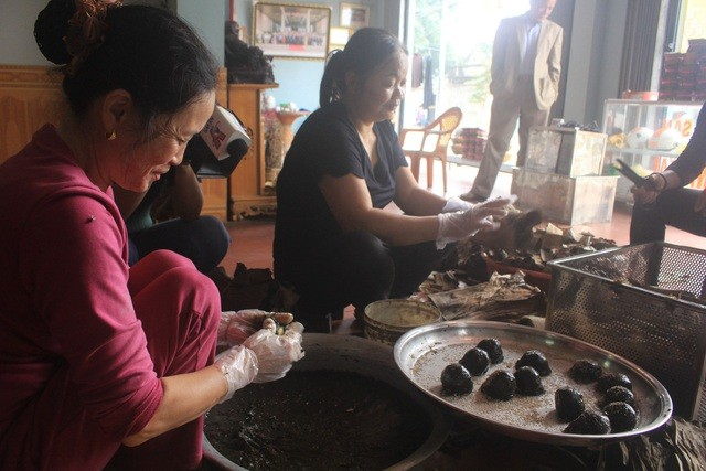 Banh Gai - a speciality of Mia village, Thanh Hoa province  - ảnh 2