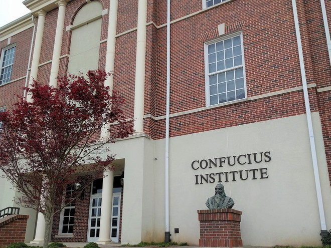 US labels Confucius Institute a Chinese foreign mission - ảnh 1
