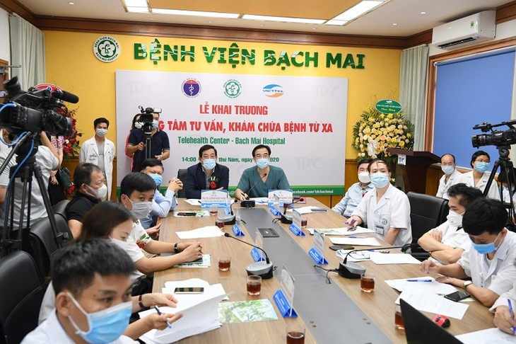 Remote health exam platform launched to control COVID-19 - ảnh 1