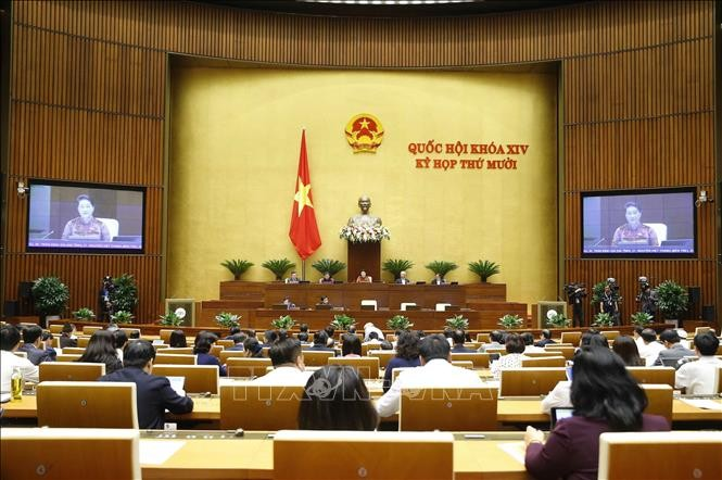 National Assembly's Q&A session closes - ảnh 1