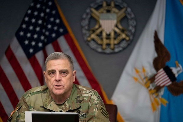America's top general meets with Taliban, calls for reduction in violence - ảnh 1