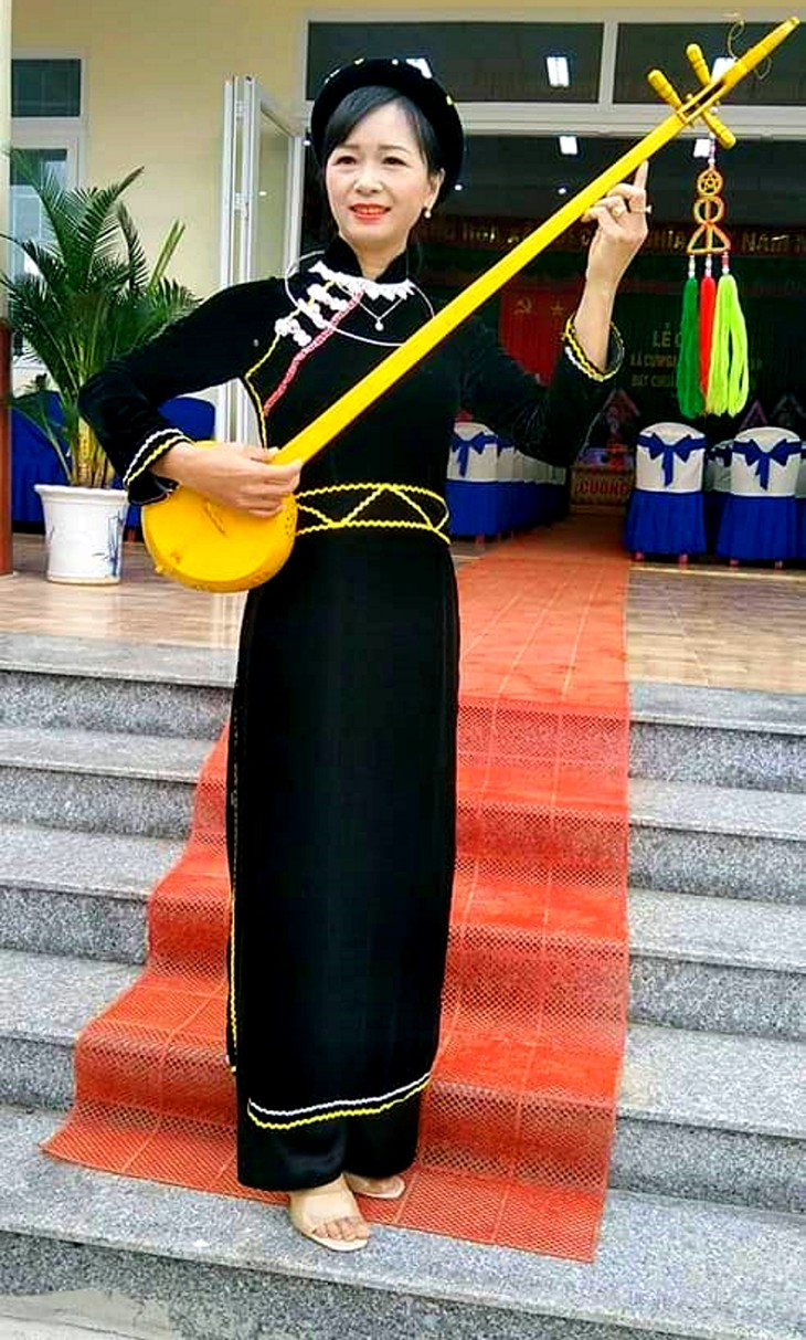 Tay woman uses Then melodies to communicate on COVID-19 - ảnh 2