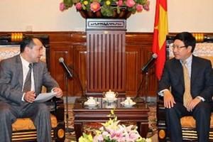 Tham vấn chính trị giữa hai Bộ Ngoại giao Việt Nam và Uzbekistan  - ảnh 1