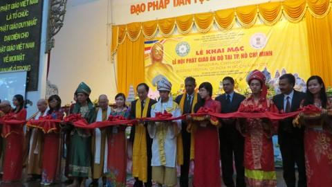 Khai mạc Lễ hội văn hóa dân tộc và Phật giáo tại Thành phố Hồ Chí Minh  - ảnh 1