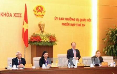 Bế mạc phiên họp thứ 35 của Ủy ban Thường vụ Quốc hội - ảnh 1