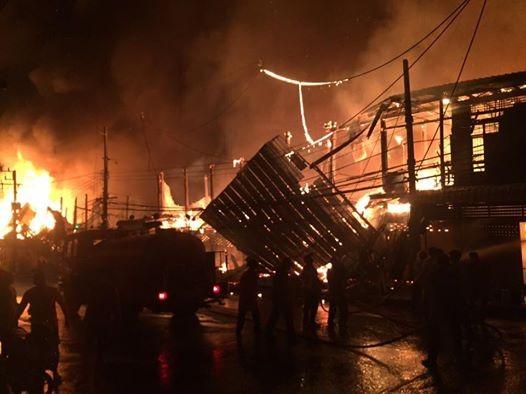 13 gia đình Việt Kiều tại Thái Lan bị hỏa hoạn - ảnh 1