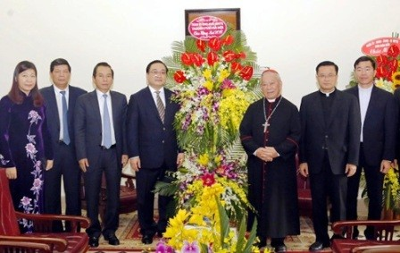 Chúc mừng các chức sắc, đồng bào Công giáo nhân dịp Giáng sinh  - ảnh 1