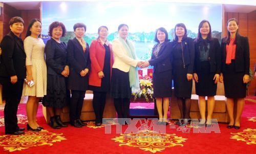 Góp phần tăng cường tình hữu nghị giữa phụ nữ và nhân dân Việt Nam-Trung Quốc  - ảnh 1