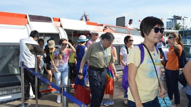 Kiên Giang: Tàu quốc tế đưa khách du lịch đến Phú Quốc - ảnh 1