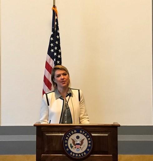 Trình chiếu bộ phim về nạn nhân chất độc da cam Việt Nam tại Thượng viện Mỹ - ảnh 2