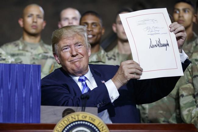 Luật chi tiêu quốc phòng Mỹ 2019: sự đầu tư quan trọng cho quân đội - ảnh 1